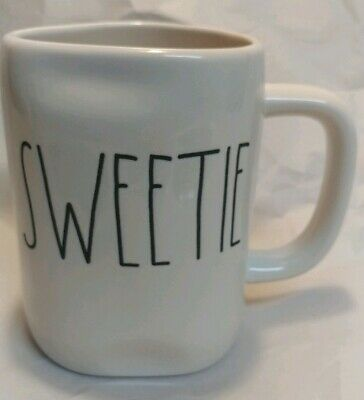 "NEW Rae Dunn by Magenta L/L ""SWEETIE"" Coffee Mug Rare HTF"