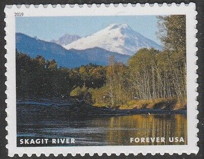 US 5381h Wild and Scenic Rivers Skagit River forever single MNH 2019