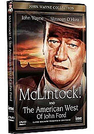 McLINTOCK! AND THE AMERICAN WEST OF JOHN FORD!-(DVD)-NEW-JOHN WAYNE