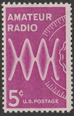 US 1260 Amateur Radio 5c single (1 stamp) MNH 1964