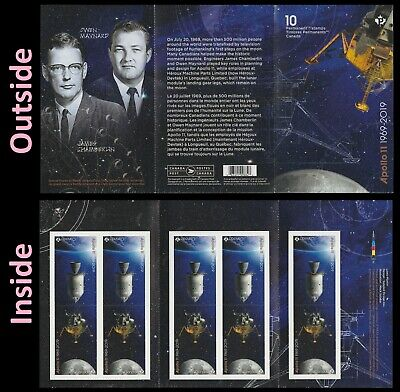 Canada Apollo 11 'P' booklet 10 MNH 2019