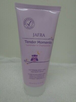 Jafra tender moment Lavender & Chamomile softening baby Hair nd body Wash 6.7 oz