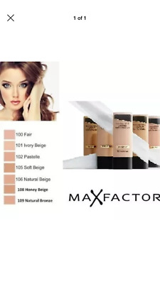 Brand New Max Factor Lasting Performance Foundation..# 105 Soft Beige