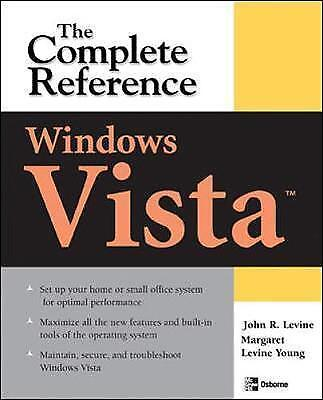(Good)-Windows Vista: The Complete Reference (Complete Reference Series) (Paperb