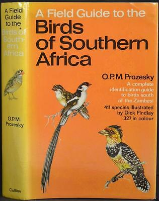 Collins FIELD GUIDE TO THE BIRDS OF SOUTHERN AFRICA Ornithology Bird Watching