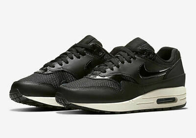 huge discount 02bb7 e8933 Womens Nike AIR MAX 1 Running Shoes -Black -319986 039 -Sz 7 -