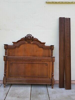 Louis XV Style French Oak Small Double Bed Surround in great condition.