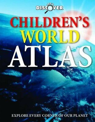 (Very Good)-Childrens World Atlas (Let's Discover) (Hardcover)--1848176481
