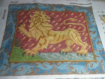 Ehrman Medieval RED LION Needlepoint Kit Canvas 1993 Candice Bahouth NO YARN