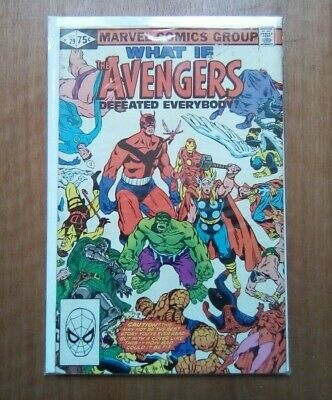 WHAT IF #29 - THE AVENGERS DEFEATED EVERYBODY MARVEL COMICS OCT 1981 1st PRINT