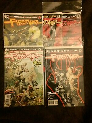First Wave # 1 - 5  (DC)