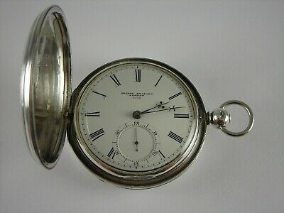 Antique English high grade 21 jewels Lever Fusee key wind pocket watch.