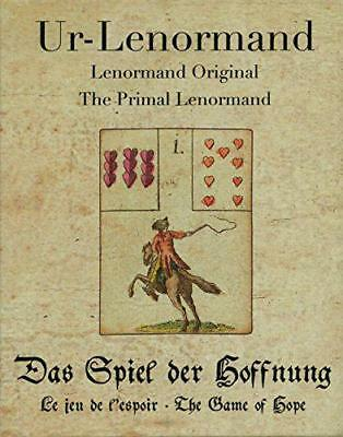 Primal Lenormand: The Game of Hope by Alexander Gluck, NEW Book, FREE & Fast Del