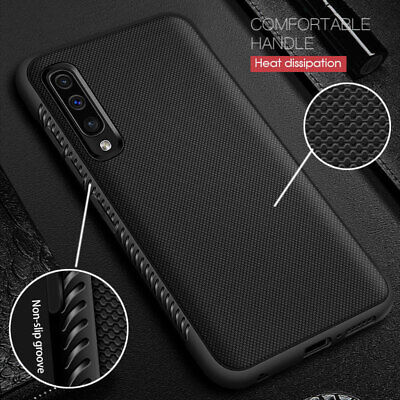 For Samsung Galaxy A30 A40 A50 A70 Anti-Skid Shockproof Soft Rubber Cover Case