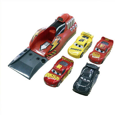 Pixar car 3 Lighting Mcqueen Catapult Launcher 4Pcs Cars Set Kids Toys Gift Xmas