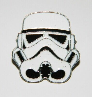 Star Wars Imperial Stormtrooper Helmet Metal Enamel Pin NEW UNUSED