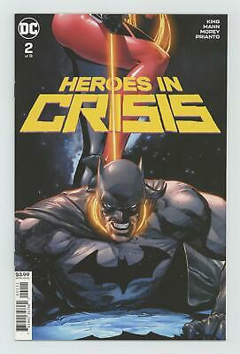 Heroes in Crisis (DC) #2A 2018 Mann Variant NM 9.4