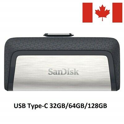 SanDisk 32GB 64GB 128GB OTG Type-C Dual USB 3.1 Flash Pen Thumb Drive SDDDC2