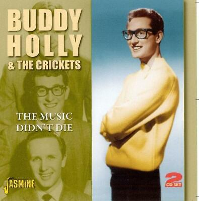 Buddy Holly and The Crickets - The Music Didnt Die CD (2) Jasmine NEW