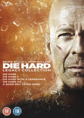 NEW Die Hard - Legacy Collection (5 Films) DVD (5643401001)