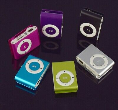 1Pz Mini Reproductores de MP3 Player Support Max 8GB Micro SDTF Music Media