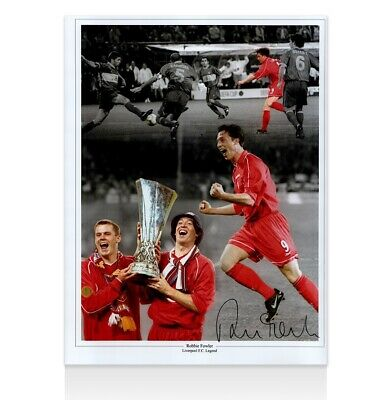 Robbie Fowler Signed Photo - Liverpool Legend Autograph
