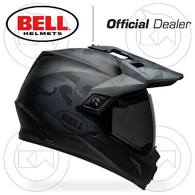 Casco Integrale Bell Mx-9 Mx9 Adventure Mips Moto Off-Road Nero Opaco Camouflage
