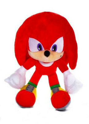 """Official Sonic The Hedgehog Knuckles 12"""" Large Plush Soft Toy Teddy New With Tag"""