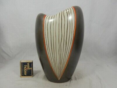 Schöne / beautiful 50´s  Design Wächtersbach pottery Keramik vase TESSIN 22 cm