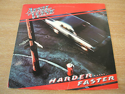 april wine   harder faster   1979 uk capitol label vinyl lp hard rock classic