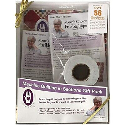 Marti Michell Machine Quilting In Sections Gift Pack-
