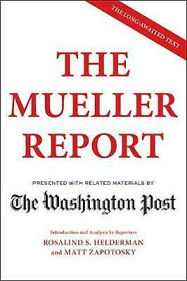 The Mueller Report by The Washington Post Paperback Book Free Shipping!
