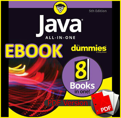 Java All-in-One for Dummies by Doug Lowe 5th Edition 2017 (ebook_pdf)