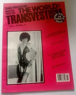 The World Of Transvestism Magazine From Swish Publications Vol 15 No 11