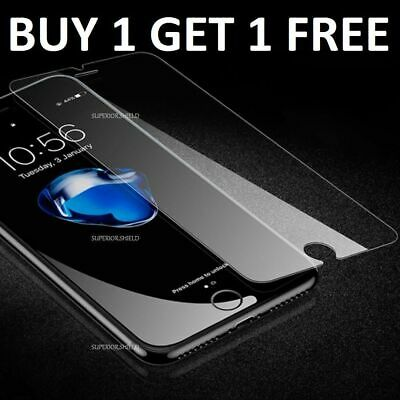NEW 100% Genuine Tempered Glass Film Screen Protector For Apple iPhone 8 -
