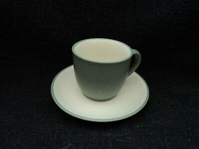 Noritake - COLORWAVE Green- Demitasse Cup and Saucer - BRAND NEW