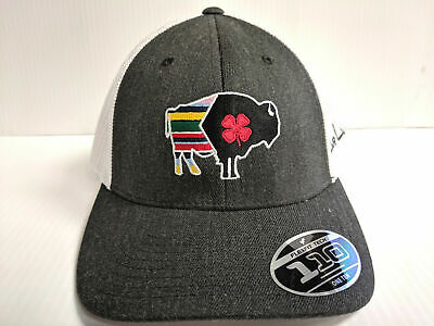 BLACK CLOVER CAP Lucky Arizona Flag Patch Hex Mesh Adjustable