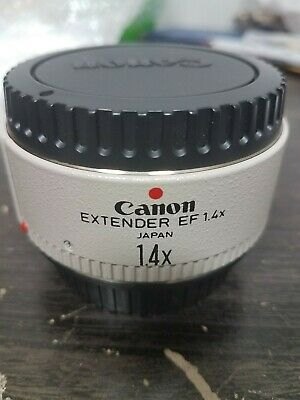 Canon Extender EF 2X Teleconverter great shape 2x others on