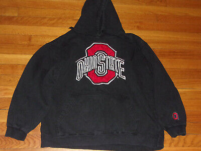 8e9d83e6 Ohio State Buckeyes Long Sleeve Black Hoodie Mens Large Nice Condition