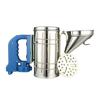 Electric Bee Hive Smoke Sprayer Beekeeping Tool Equipment With Handle Stainless