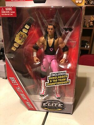 Mattel WWE Elite Series 43 Flashback Bret Hart Action Figure NEW