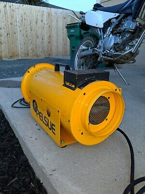 Used Construction Propane Heater, Yellow 1590 PELSUE GREAT condition.