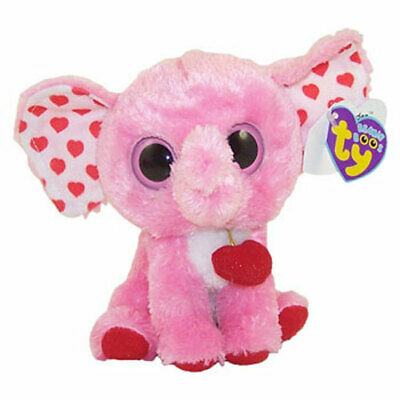 9a111d550c9 TY Beanie Boos - TENDER the Pink Elephant (Solid Eye Color) (6 inch