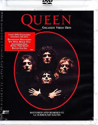 Queen - Greatest Video Hits Dvd 2 Disc Set 33 Videos Freddie Mercury Region Free