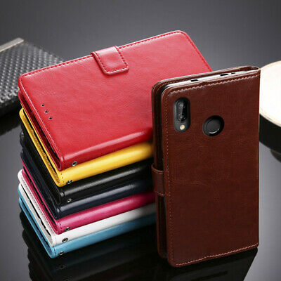 For HTC/Elephone Phone - Luxury Flip Leather Case Holder Stand Wallet Cover Skin