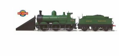 Oxford Rail Dean Goods 2534 Locomotive Gwr Snow Plough(Dcc Sound) Or76Dg005Xs