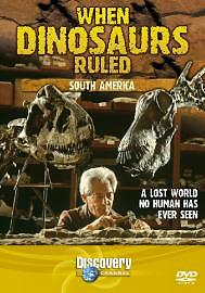 When Dinosaurs Ruled - South America (DVD, 2005)
