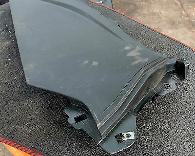 2014 Fiat Punto Abarth Drivers Center Console Foot Well Trim 735496854   (Jr)