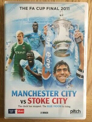 Manchester City Vs Stoke City FA Cup Final 2011 2x DVD