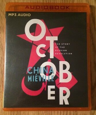 MP3 Audio Book - China Mieville - October (2017)